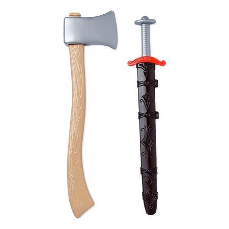 Оружие викинга Русский стиль (топор+меч)