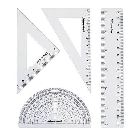 Набор геометрический Silwerhof (4 предмета)