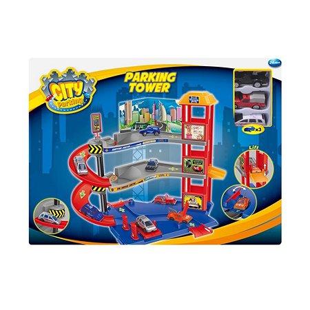 Парковочная башня Dave Toy с 3 машинками