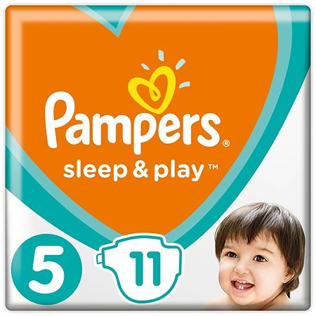 Подгузники Pampers Sleep and Play 5 11-16кг 11шт