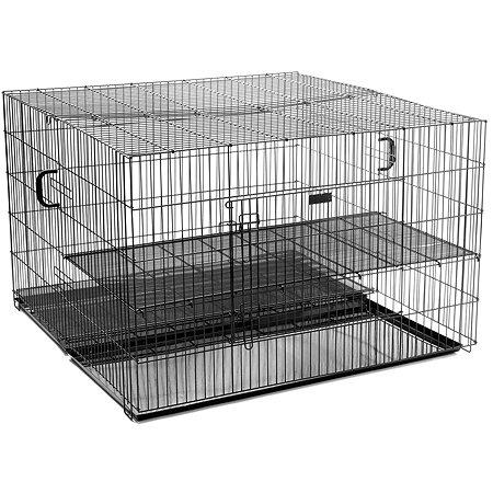 Клетка-вольер для щенков Zoo One с решеткой и поддоном 32748