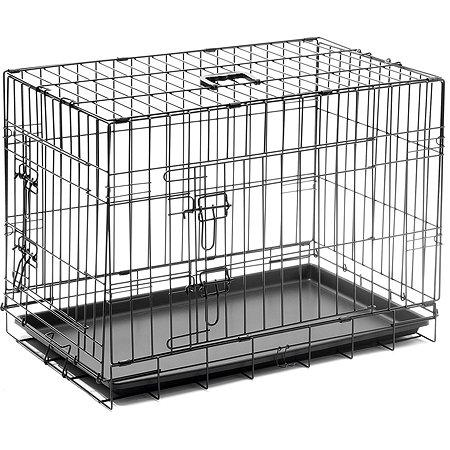 Клетка для собак Zoo One с поддоном 2 дверьми 6003