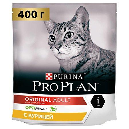 Корм для кошек PROPLAN с курицей 400г