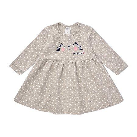 Платье BabyGo серое