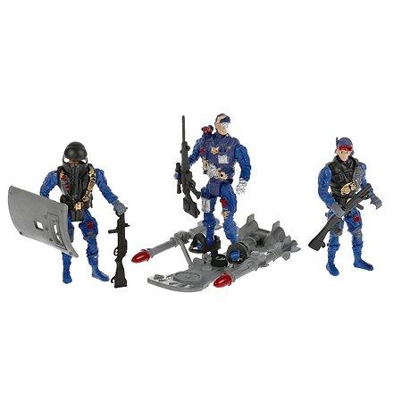 Набор игровой Играем вместе Полиция солдатики с оружием 10 предметов 295545