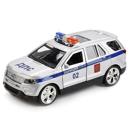 Машина инерционная Технопарк Ford Explorer Полиция открывающиеся двери 243667