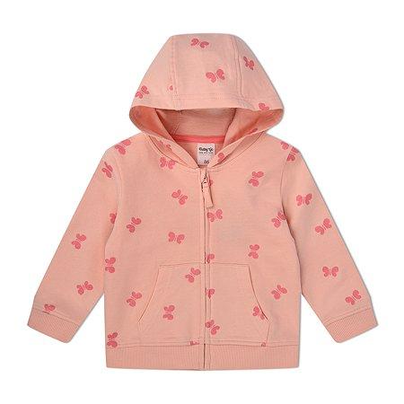 Толстовка BabyGo розовая