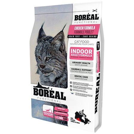 Корм для кошек Boreal Functional домашнего содержания с курицей 2.26кг