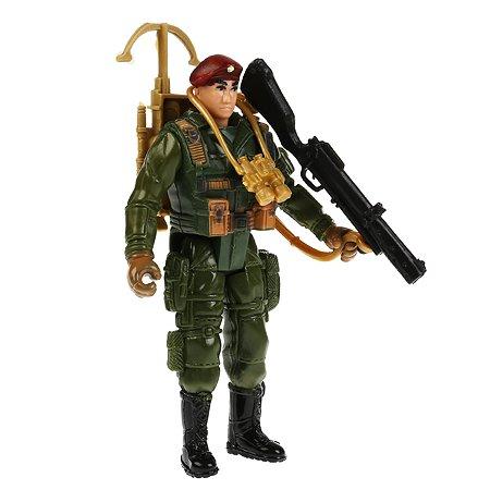 Набор игровой Играем вместе солдатик с оружием  295596