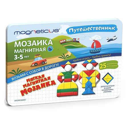Игра настольная MAGNETICUS Магнитная мозаика 245 элементов MMT-245