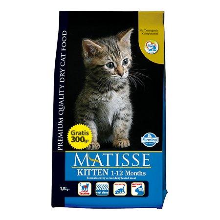 Корм сухой для котят Farmina Матисс 1.5кг