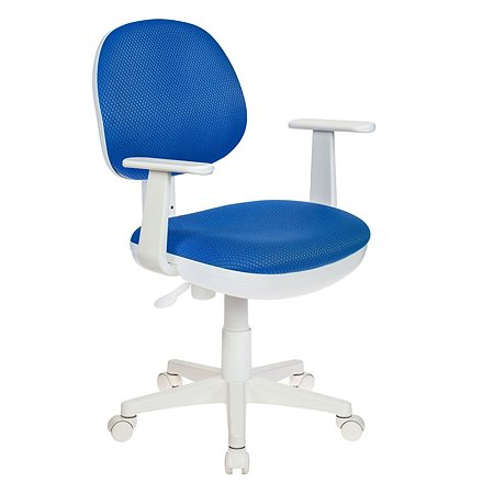 Кресло Бюрократ W356 Синее 480746