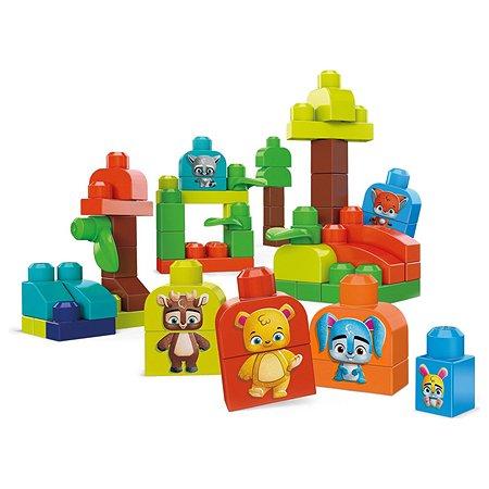 Набор игровой Mega Bloks Эко Лесные друзья GMB63