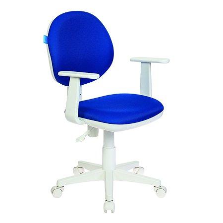 Кресло Бюрократ W356 Темно-синее 813103