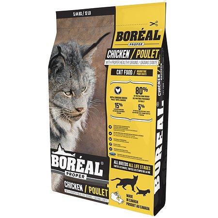 Корм для кошек Boreal Proper с курицей 5.44кг