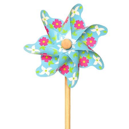 Ветрячок ЯиГрушка Цветы Голубой 12225