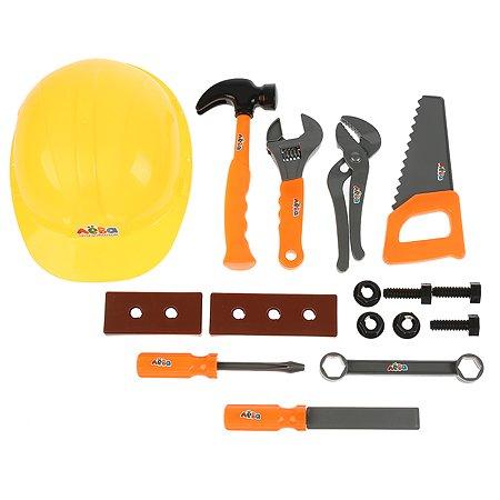Набор игровой Играем вместе Грузовичок Лева строительные инструменты 16 предметов 295552