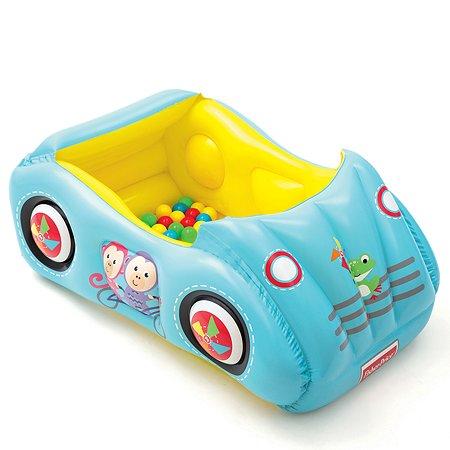 Бассейн игровой Bestway Машина с шариками 93535