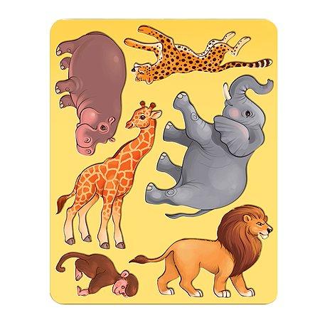 Трафарет Луч Животные Африки 9С 486-08