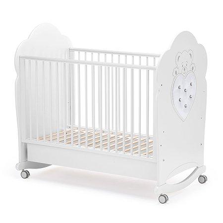 Кровать Nuovita Fortuna Dondolo Bianco/Белый