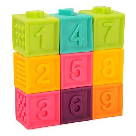 Кубики развивающие BabyGo 9 шт. LW19-55