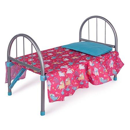 Кроватка для куклы Demi Star Единороги