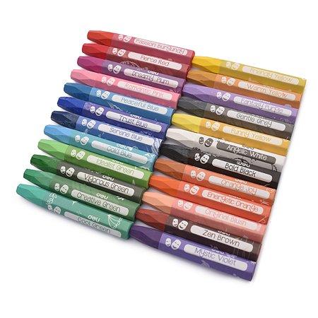 Пастель масляная Deli Color Emotion 24цвета EC20124