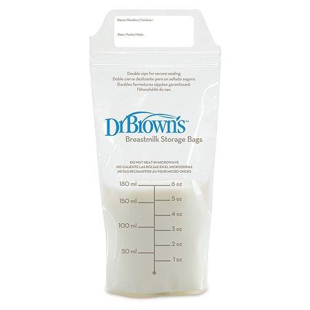 Пакеты для хранения грудного молока Dr Brown's 25шт S4005