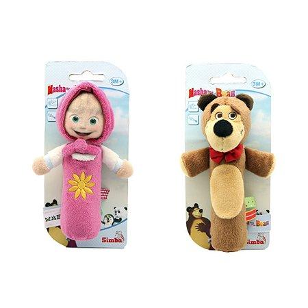 Игрушка-пищалка Simba плюшевая Маша и Медведь