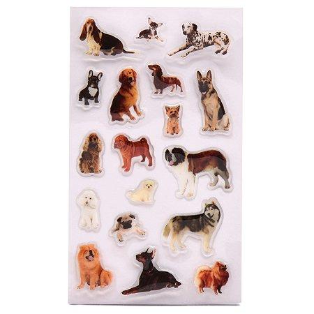 Наклейка декоративная леденцовая Липляндия Породы собак