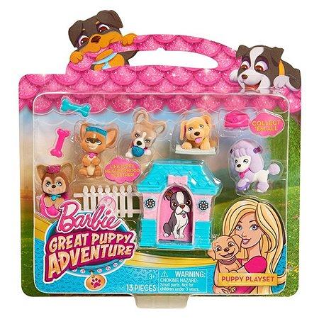 Игровой набор Barbie с щенком в ассортименте