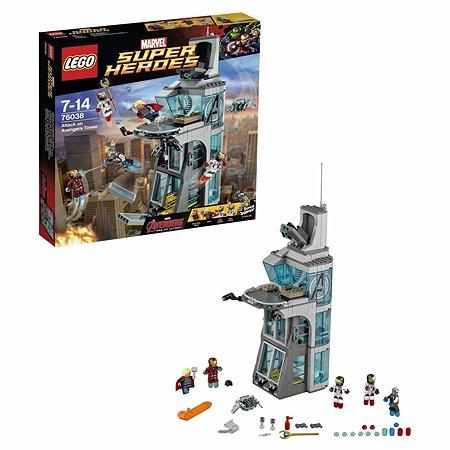 Конструктор LEGO Super Heroes Нападение на башню Мстителей (76038)