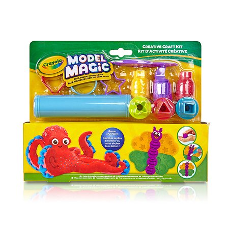 Маленький набор Crayola волшебного пластилина с инструментами