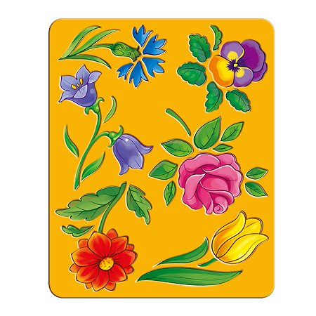 Трафарет Луч Цветы 25С 1575-08