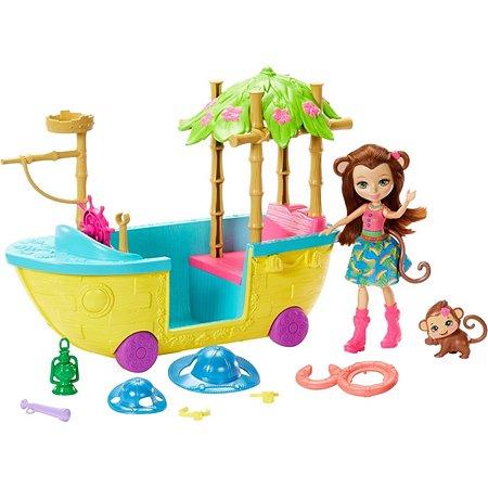 Набор игровой Enchantimals Джунгли-лодка GFN58