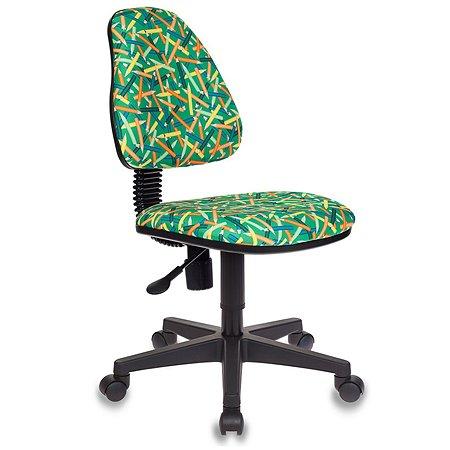 Кресло Бюрократ Kd-4 Карандаши Зеленое 490161