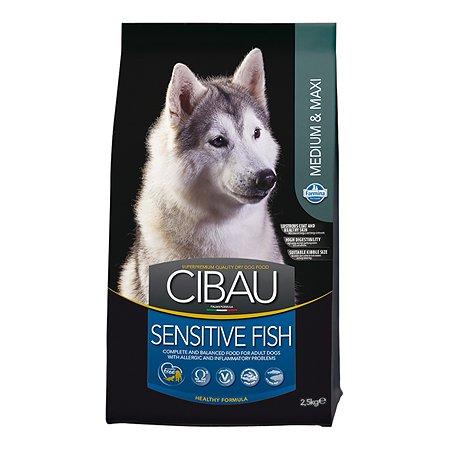 Корм для собак Farmina Сибау сенситив средних и крупных пород рыба 2.5кг