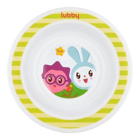 Тарелка Lubby Малышарики 200мл 20914