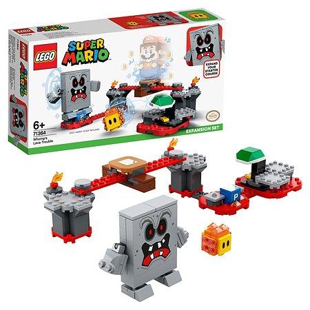 Конструктор LEGO Super Mario Неприятности в крепости Вомпа 71364