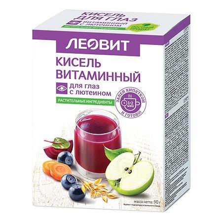 Кисель Леовит Витаминный для глаз с лютеином 90г 5пакетов