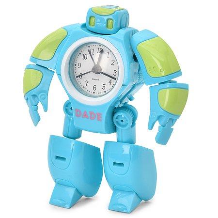 Часы-будильник DADE toys Робот YS976524