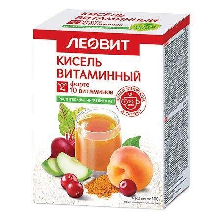 Кисель Леовит Витаминный форте 100г 5пакетов