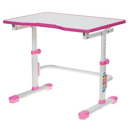 Стол ученический Бюрократ Conductor-001 Розовый 1080551