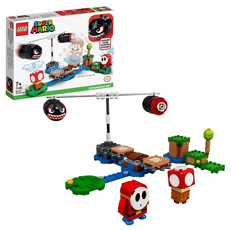 Конструктор LEGO Super Mario Огневой налёт Билла-банзай 71366