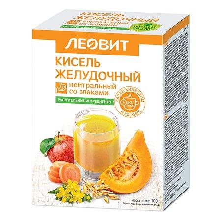 Кисель Леовит Желудочный нейтральный 100г 5пакетов