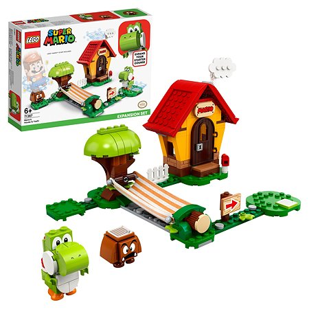 Конструктор LEGO Super Mario Дом Марио и Йоши 71367