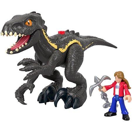 Набор игровой IMAGINEXT Jurassic World Мейзи и индораптор GKL51