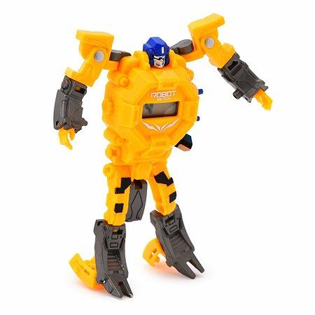 Часы-трансформер DADE toys наручные Желтый YS950357