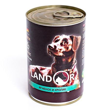 Корм для собак Landor пожилых ягненок с кроликом 0.4кг