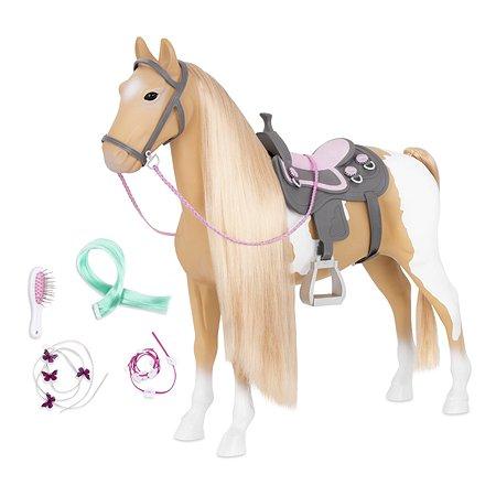 Игрушка Our Generation Лошадь с длинной гривой BD38030Z